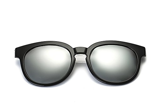Weidan new men and women polarized sunglasses driving mirror classic Acts Pacers 010 (Black frame / mercury lenses, - Para 2017 Anteojos De Sol Mujer