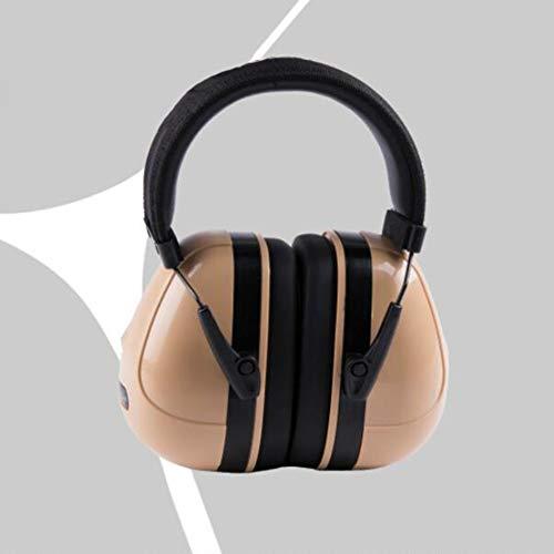 Noise Cancelling Headphones, Head-Mounted Adult Soundproof Earmuffs Sleep Learning Noise Reduction Earphones by Noise canceling headphones (Image #2)