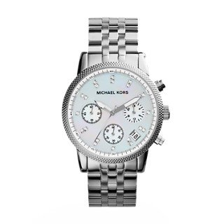 Michael Kors Women's Ritz Silver-Tone Watch - Silver Michael