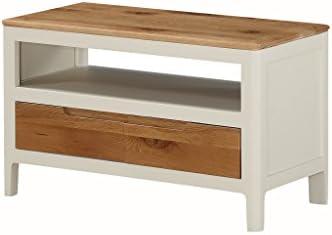 Dunham - Mueble de TV pequeño de Roble Pintado con cajones de ...