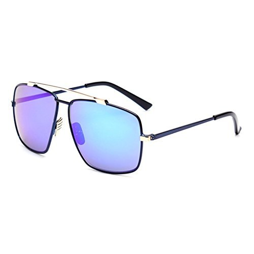 LENSTAR DSG800048C6 Explosion Models PC Lens Metal Men's Sunglasses,Metal Frames - Star Elton Sunglasses John