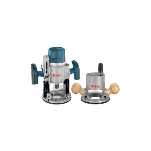 Bosch 1617EVSPK-RT 12 Amp 2-1/4 HP Plunge and Fixed Base Variable Speed Router Kit with 1/4-Inch and 1/2-Inch Collets (Certified Refurbished)