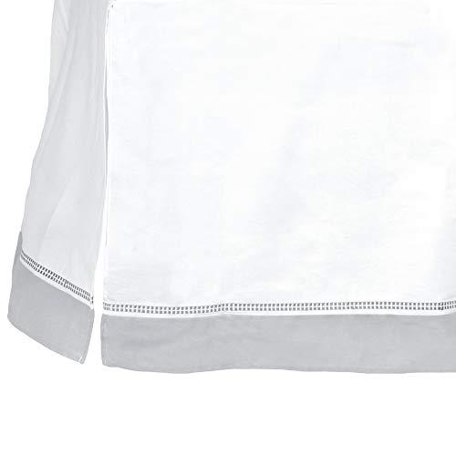 Just Born Dream Dust Ruffle, Grey, White, One Size (Crib Dust Ruffle Pattern)
