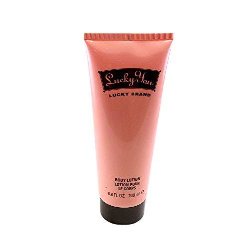 Lucky Brand Body Lotion for Women, 6.7 Fluid Ounce