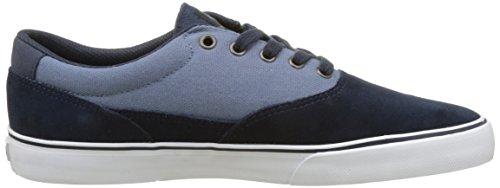 EmericaProvost Slim Vulc - Zapatillas de Skateboarding hombre Navy/blue/white