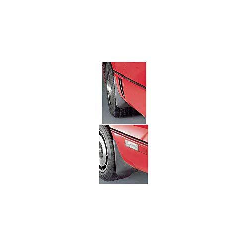 - Eckler's Premier Quality Products 25171380 Corvette Splash Guards Body Contoured Front & Rear MatteBlack Altec