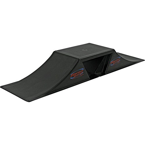 Plastic Skateboard Ramp (Discount Ramps SK-903-MRK Black 7