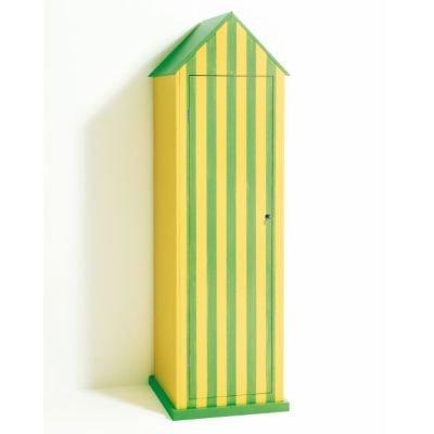 Forte dei Marmi Strandhaus-Schrank grün/gelb