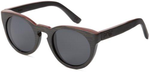 Proof Eyewear Unisex Ontario Black Maple Fire Wood Handcrafted Water Resistant Wooden Sunglasses,  Mahogany,  50 - Sunglasses Womens Mahogany