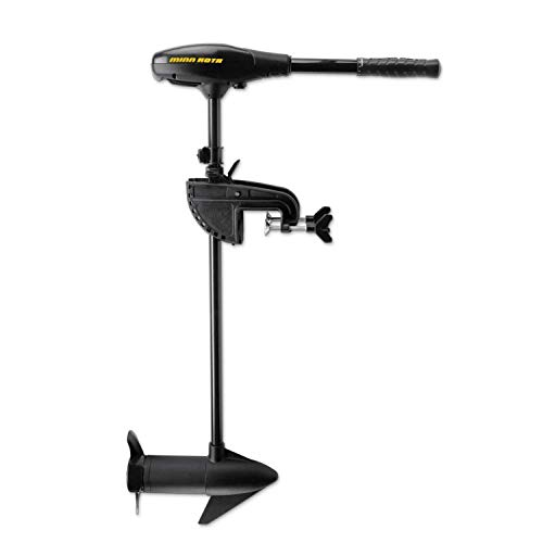 MinnKota Maxxum 55/SC Bowmount Trolling Motor with Hand Control and Speed Coil (55lbs thrust, 52- Inch shaft)