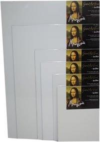 Mona Lisa Gessoed Art Board [Set of 6] Size: 8'' x 10'' by Mona Lisa