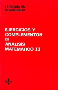 Descargar Libro Ejercicios Y Complementos De Análisis Matemático Ii José Antonio Fernández Viña