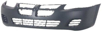 OE Replacement Dodge Stratus Front Bumper Cover (Partslink Number CH1000407)