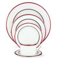 Kate Spade Library Lane Pink 5 Piece Place Setting