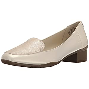 Anne Klein Women's Daneen Leather Slip-On Loafer