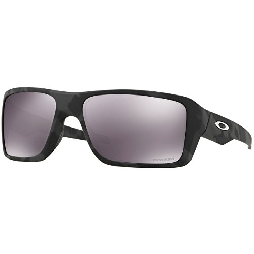 Oakley Men's Double Edge Sunglasses,OS,Black Camo/Prizm Black