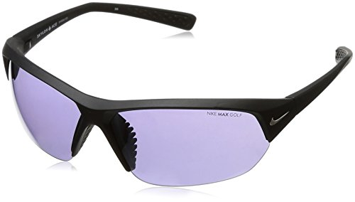 NIKE Skylon Ace E Sunglasses, Matte Black, Max Golf Tint Lens ()