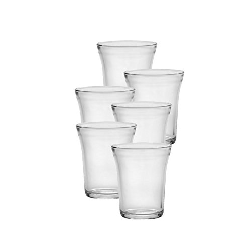 Duralex Universel 7.75 oz 22 Cl Tumbler (Set of 6), Clear Glass