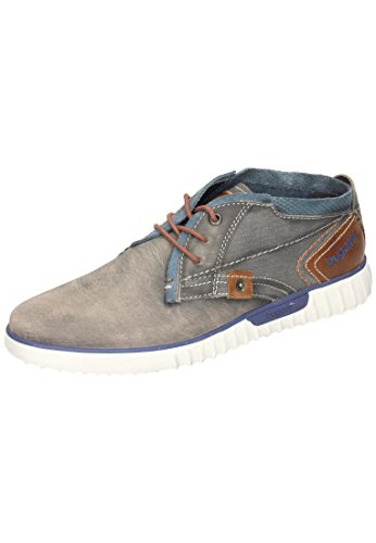 Bugatti unisex lace up shoes grey -  Bullboxer, K3732PR58-142