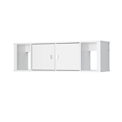 Computer Desk for Small Spaces - Zero Gravity Wall Mounted Desk Hutch