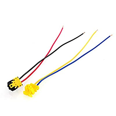 DEALPEAK 2pcs Airbag Clock Spring Plug Air Bag Connector Clock Spring Wire For Dodge Ford Jeep: Automotive