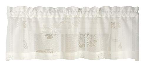 (Curtain Chic Oopsy Daisy Lace Valance Curtain 54