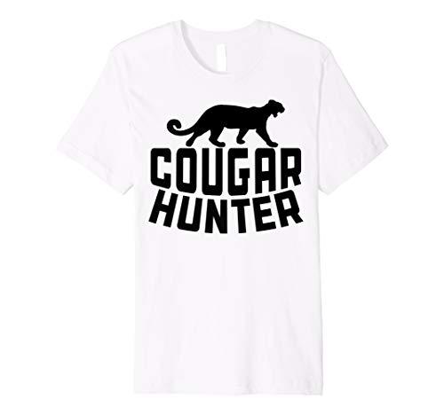 Cougar Hunter T Shirt - Funny Mens Cougar T Shirt -