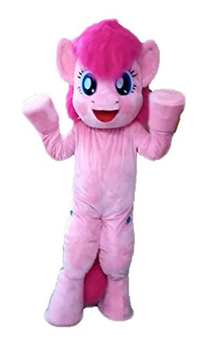 My Little Pony Costume Pinkie Pie Mascot Costume for Party Cartoon Character Costumes -