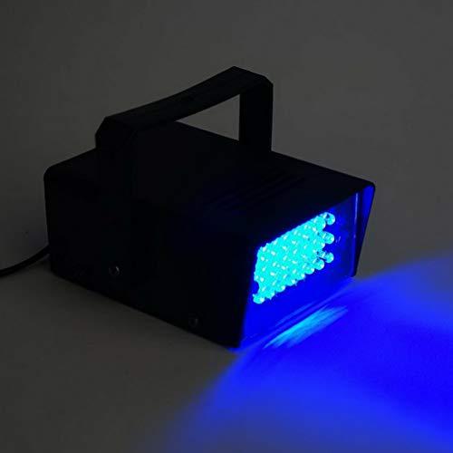 Mikash 35 Watt Mini Bright Strobe Flash Light with Speed Control Party Decorations | Model WDDNGDCRTN - 12820 | 6 ()