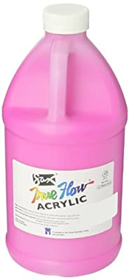 Sax True Flow Medium-Bodied Acrylic Paint - 1/2 Gallon - Magenta
