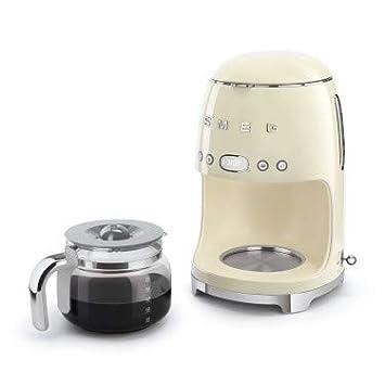 Smeg DCF02CREU Filtercafetera eléctrica Crème: Amazon.es ...
