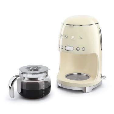 Smeg dcf02creu DCF02RDEU/PGAU/WHAU Cafetera de filtro, Gris ...