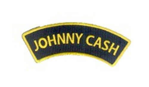 Johnny Cash Halloween Costumes (J&C Family Owned Cosplay Application New Johnny Cash Applique Patch)