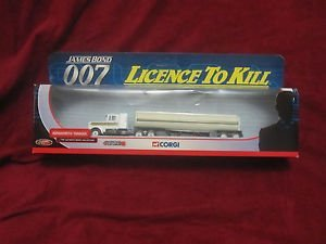 Kenworth Tanker - Corgi James Bond 007 Licence to Kill Kenworth Tanker