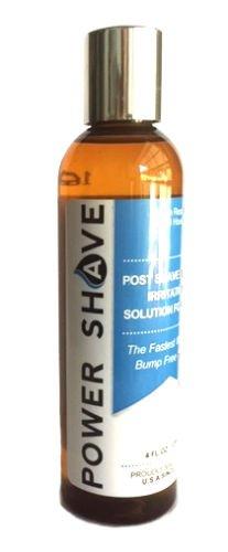 Power Shave Ingrown Hair Razor Bumps Treatment for Men -