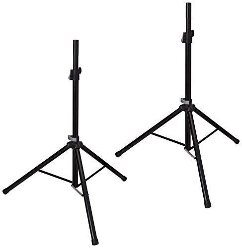 K&M 21449-000-55 Speaker Stand Package w/Carry Bag
