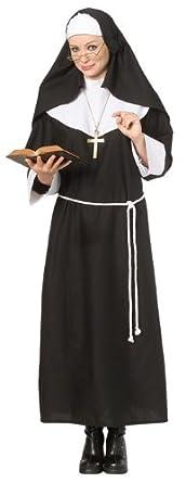 sc 1 st  Amazon.com & Amazon.com: Rubieu0027s Costume Halloween Concepts Nun Costume: Clothing