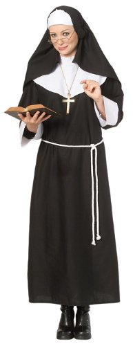 [Rubie's Costume Halloween Concepts Nun Costume, Black/White, X-Large] (Biblical Themed Costumes)