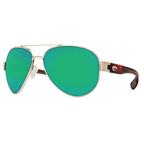 Costa Del Mar South Point Men's Sunglasses, Rose Gold w/ Light Tortoise - South Point Sunglasses Costa