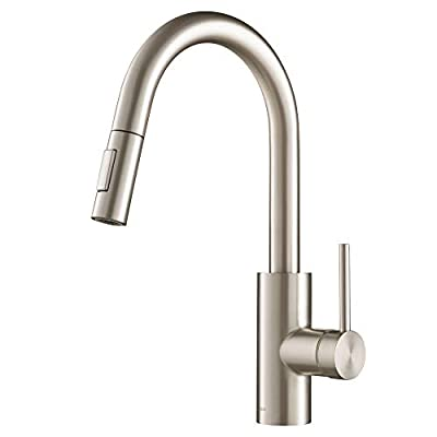 KRAUS KPF-2620SFS Oletto Kitchen Faucet 15.75 inch Spot Free Stainless Steel