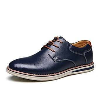 nuove pelle morbida Le casual 44 Brown Blue in scarpe pqHHZTaw