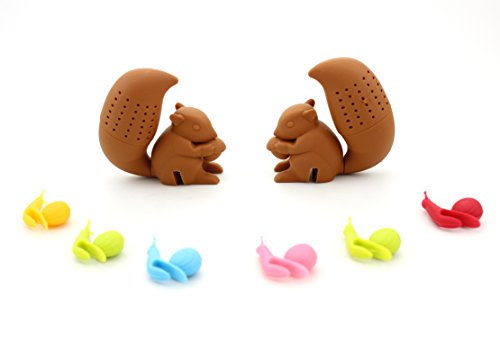 ZICOME Silicone Squirrel infuser Strainer product image