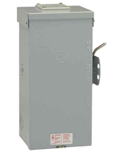 GE Energy Industrial Solutions TC10323R GE Outdoor Double Pole Double Throw Safety Switch, 100-Amp (Best Whole House Emergency Generator)