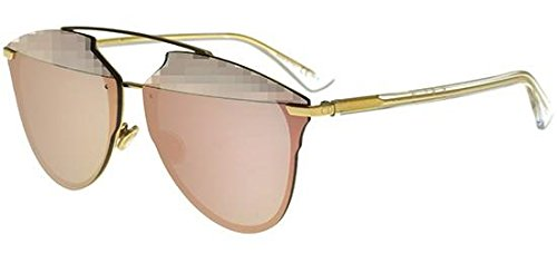 Christian Dior Dior Reflected P S5ZRG Gold Crystal Reflected P Pilot Sunglasses (Christian Dior Gold)
