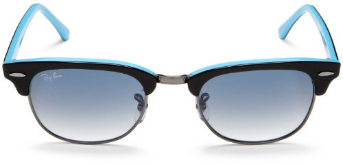 Azure Black Ray And Lunettes Gradient Ban de Blue Mixte soleil Blu wTA4q