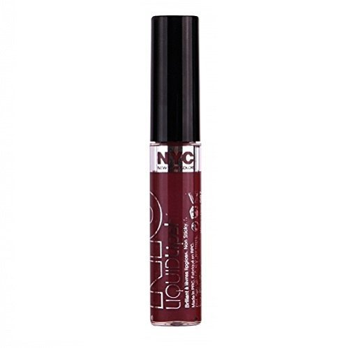 NYC LIQUID LIPSHINE #587 WINE N DINE