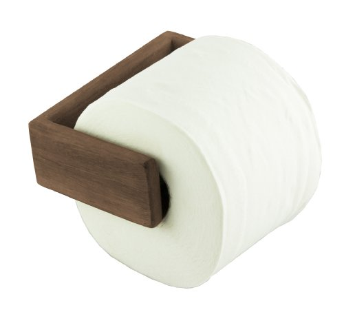 Teak Toilet - SeaTeak 62322 Toilet Paper Holder