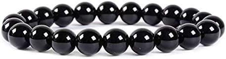 Power Extensible//Pierre naturelle de 8 mm Pour votre bien-/être Bracelet Chakra