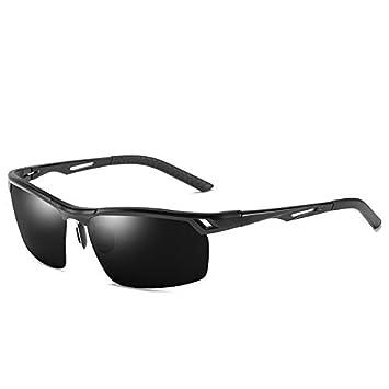 Mjia sunglasses Gafas Deportivas Hombre,Gafas de Sol polarizadas,Aluminio Magnesio Gafas de Montar a Caballo Gafas de Pescar de,conducción al Aire Libre, ...