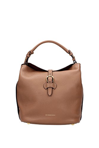 3958936 Burberry Shoulder Bags Women Leather Brown